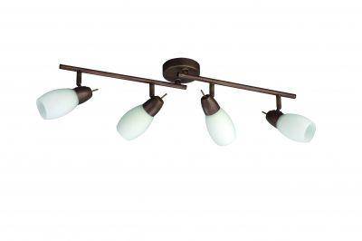 Boxwood Deckenstrahler mit vier verstellbaren Leuchtköpfen