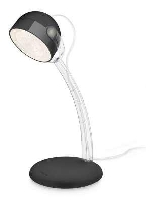 Philips Tischleuchte Schreibtischleuchte LED Leuchte Modern Schwarz