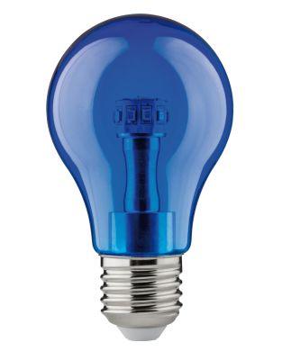 Paulmann LED Lampe Glühbirne E27 Leuchtmittel Dekorativ Blau