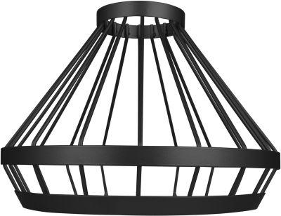 Osram Vintage 1906 Cage  E27 max. 60W Schwarz Lampenschirm Ø 23,9cm Alu