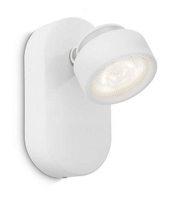 Philips LED Spot Rimus Weiss Wandleuchte Deckenleuchte 3W 170lm Metall weiß