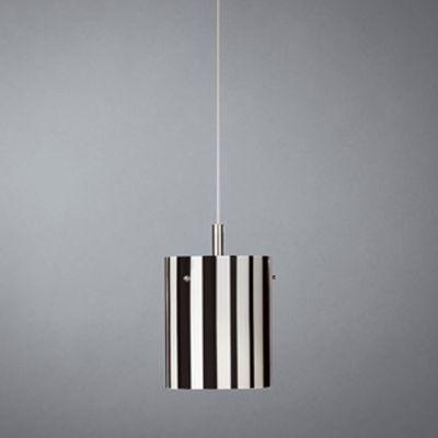 Halogen Glaspendel Modern Pendelleuchte Schwarz Weiss Ø 16cm