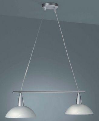 Energiespar Glaspendel 2 Flammig Glas inkl. Leuchtmittel