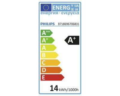 Philips LED Leuchtmittel SceneSwitch 4 Stück E27 Birnenform 1521lm Warmweiß Neutralweiß 14W