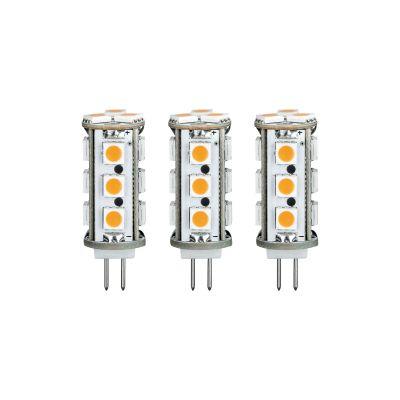 Paulmann LED 12V Stiftsockel G4 Leuchtmittel 3er Set je 2,5W Lampe Warmweiß