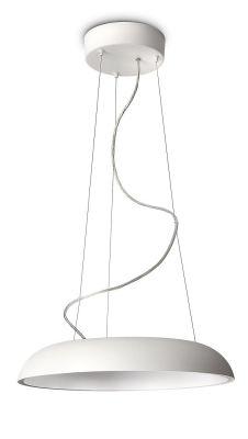 Philips Ecomoods Pendel-/Küchenleuchte 2GX13 Energiespar Weiß Ø 43,4cm H. 140cm