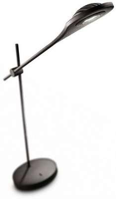 PHILIPS LEDINO LED Tischleuchte Modern Schreibtischlampe  Schwarz