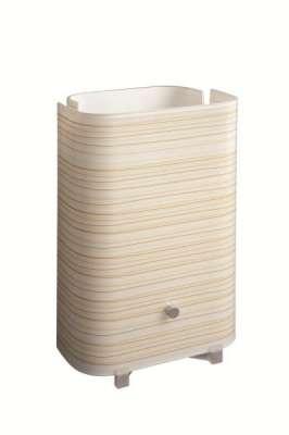 Tischleuchte Galba Modern Leuchte Tischlampe Lampe Braun