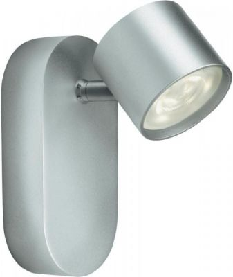 Philips Wandleuchte Cyl LED Spot 1x4W alu