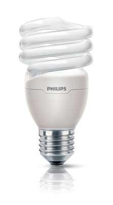 Philips Energiesparlampe Spiralform Leuchtmittel E27 Lampe 12W kaltweiß Spriale
