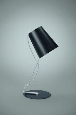 Skip Bürotischleuchte Tischleuchte LED tauglich Metall Schwarz 39,5x16x20,6cm