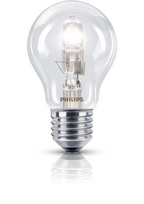 Philips Halogen Classic Halogenlampe Leuchtmittel E27 Glühlampe 53W