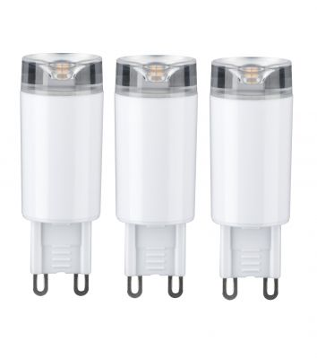 Paulmann LED 230V 3er Set Stiftsockel G9 Leuchtmittel je 2,4W