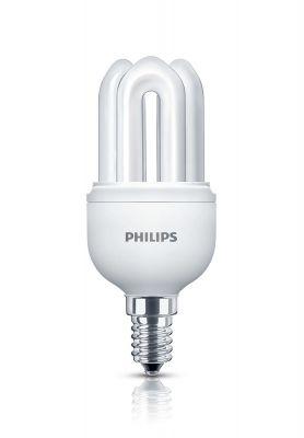 Philips Energiesparlampe Stabform Leuchtmittel E14 Lampe 8W Tageslichtweiß