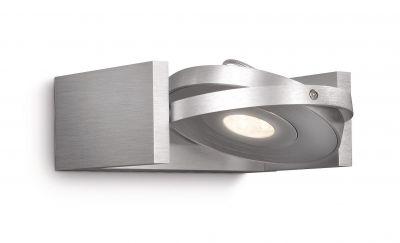 Philips LED Ledino Wandspot Alu Wandleuchte Spot Dimmbar Schwenkbar 6W