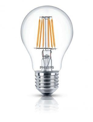 Dekorative Philips LED Lampe Glühbirne Leuchtmittel Deco Classic Klar E27 Leuchte 4,3W