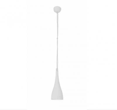 LED Hänge-/Pendelleuchte Weiß 8W 640lm 3000K Industriedesign Höhe 150cm Ø15cm