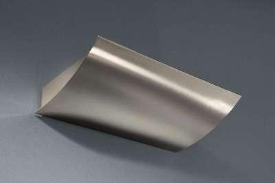 Energiespar UP Wandleuchte Wandlampe Stahl Gebürstet Modern