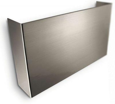 Energiespar Wandleuchte 2xG23 je 9W/230V Silber 2700K 1200lm 24,1x4,9x14cm