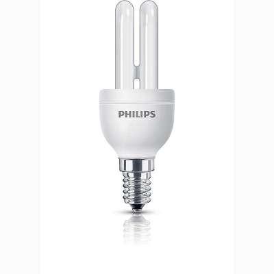 Philips Energiesparleuchtmittel Genie Stabförmig  5W Sparleuchtmittel E14
