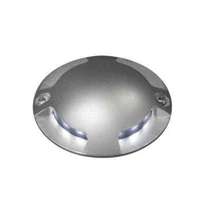 Boden Einbauleuchten 3er Set LED IP67 Aussenleuchten Aussenlampen 7cm