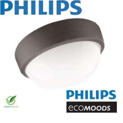Philips Ecomoods Wandaussenleuchte Deckenlampe anthrazit