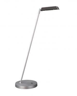LED Tischleuchte Schreibtischleuchte Büroleuchte Craig Aluminium / schwarz