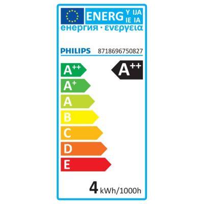 Philips Deco LED Leuchtmittel E14 Glühbirne 397lm Kopfspiegel Warmweiß 4W Tropfenform