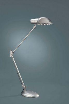 Bürotischleuchte Luke Energiespar Grau 1xE27 max. 18W Metall 57x67,5x15cm