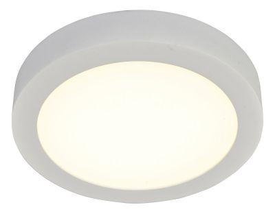 LED Deckenleuchte Warm Weiß 3000K 1006lm Rund Dimmbar Silber