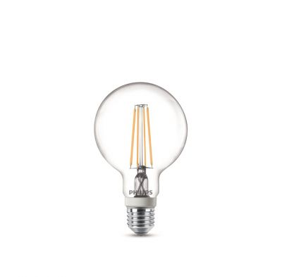 Philips LED Vintage Leuchtmittel E27 Globe 806lm Dimmbar 7W Glühfaden Ø 95mm