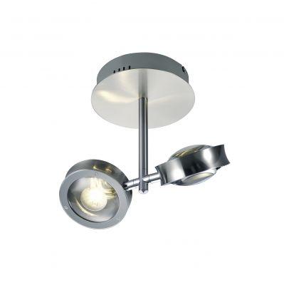 Deutsche LED Deckenleuchte Silber 1020lm Dimmbar Fernbedienung ZigBee RGB Verstellbar