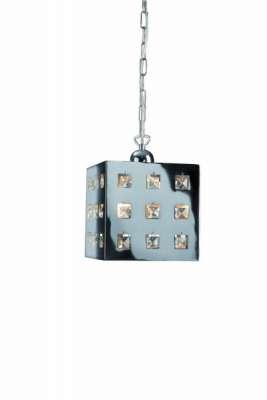 Pendelleuchte Metallpendel FERDINAND Glaspendel Modern