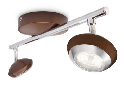 zweiflammiger Philips Power LED Spotbalken