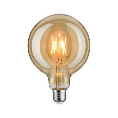 Paulmann LED Vintage Globe Leuchtmittel Gold Ø 125mm E27 Goldlicht