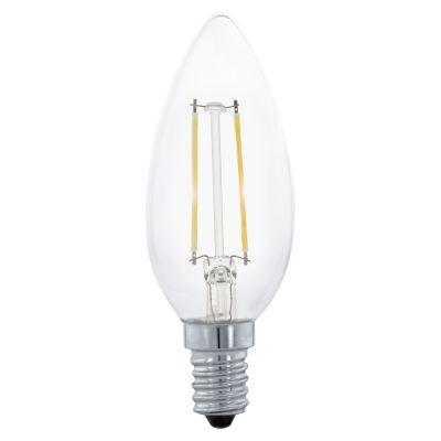 Eglo LED Lampe E14 Leuchtmittel 4W Kerze 2700K Warmweiß 350lm