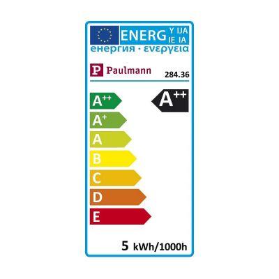 Paulmann LED Lampe Dimmbar 520lm DecoPipe gerade E27 Glas