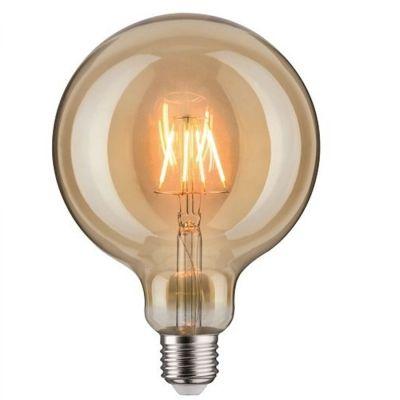Paulmann LED Lampe Filament Dekorativ Glühbirne Globe E27 Leuchtmittel 7,5W