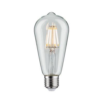 Paulmann LED Lampe Retro Kolben 7,5W E27 Klar Dimmbar Warmweiß
