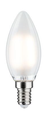 Paulmann LED Lampe Kerze Satin 4,5W E14 Warmweiß Dimmbar