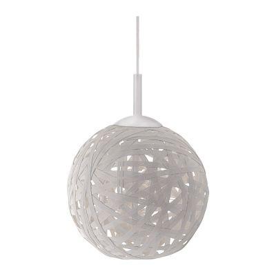 Leuchten Direkt Pendelleuchte Kugel Ø 40cm LED tauglich Weiss