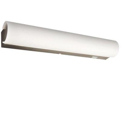 Badezimmerleuchte Wandleuchte Schalter Opalglas Chrom IP44