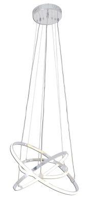 LED Hänge-/Pendelleuchte 45W/230V Dimmbar Fernbedienung Ø50cm 3600lm Höhe 120cm