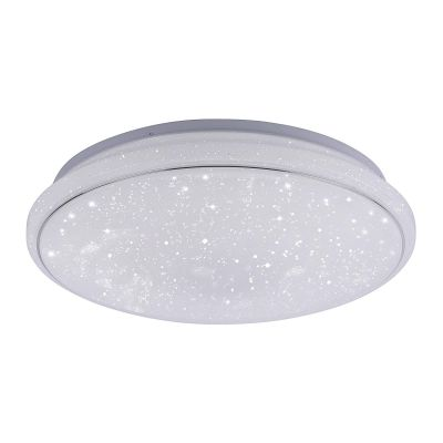 LED Deckenleuchte Sternenoptik Fernbedienung Farbwechsler Dimmbar Ø 35cm RGBW