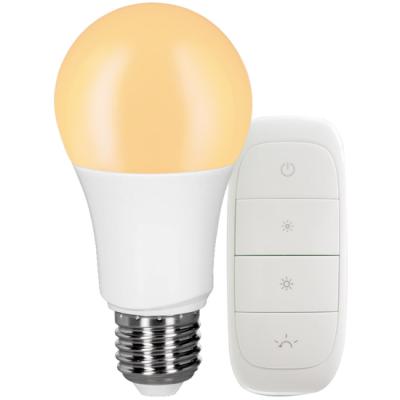 Müller Licht tint Starter Set Dimmbar LED Warmweiß Fernbedienung 806lm E27