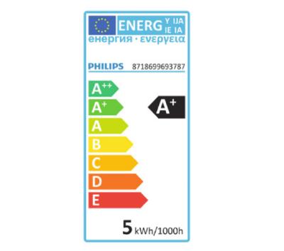 Philips LED Leuchtmittel 6er Set GU10 Reflektorform 355lm Warmweiß 4,6W = 50W