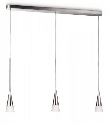 Dekorative Philips Ecomoods Pendelleuchte Chrom Energiespar 3 Flammig