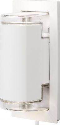 LED Wandaussenleuchte Weiss Up & Down IP54 Aussenleuchte Aluminium