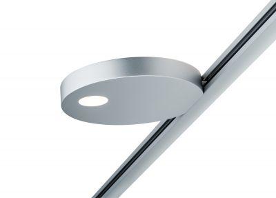 Paulmann URail LED Spot Uplight 16W Chrom matt 1316lm für Schienensystem Ø13cm