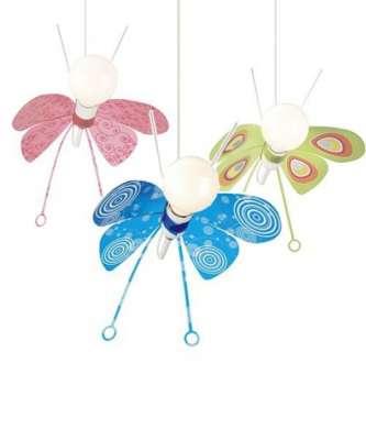 Kinderzimmer Pendelleuchte Butterfly Kinderzimmerleuchte Leuchte